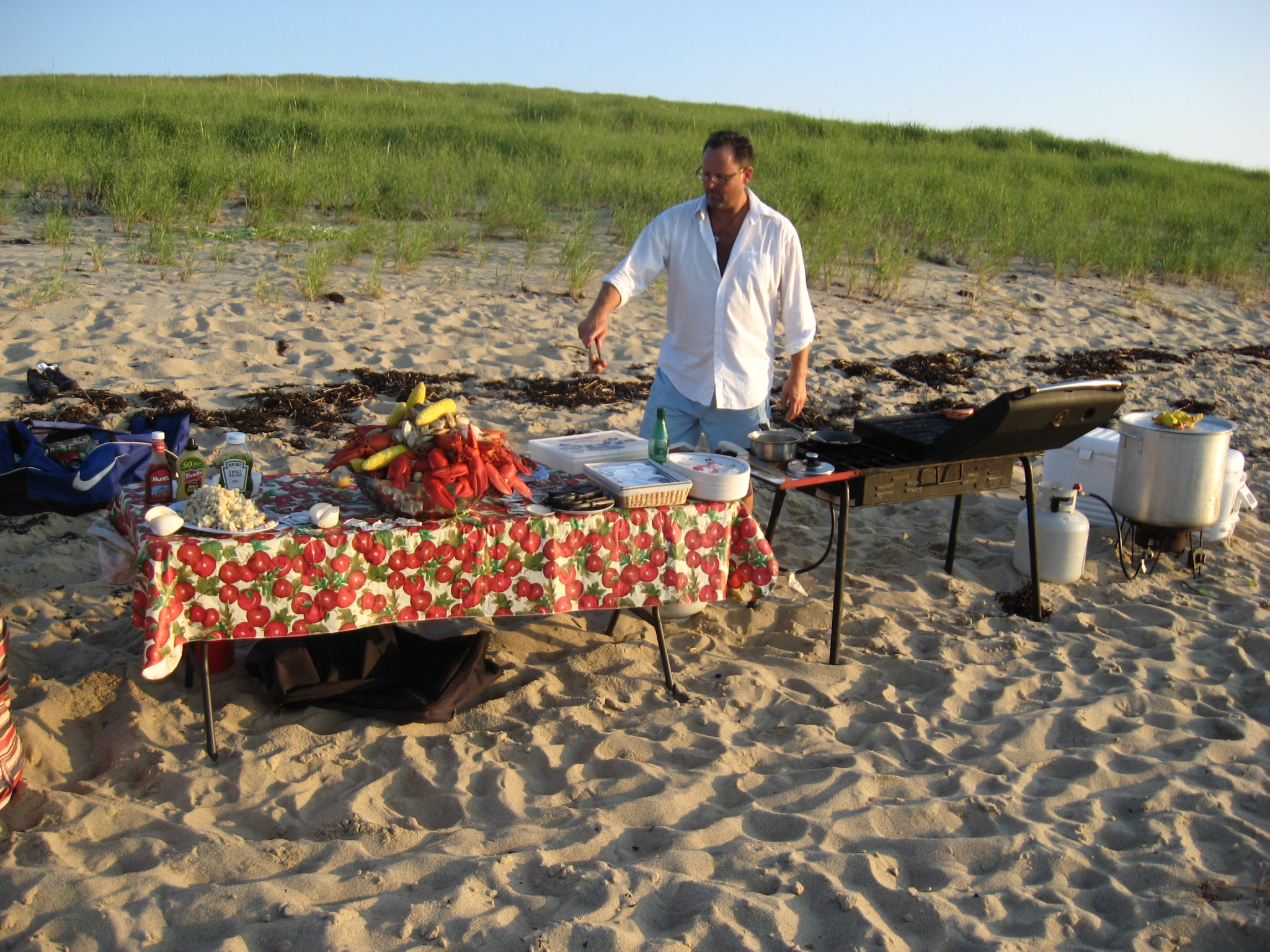 Outer Cape Clambake - With just a phone call you bring a personal chef from Outer Cape Clam Bake ...