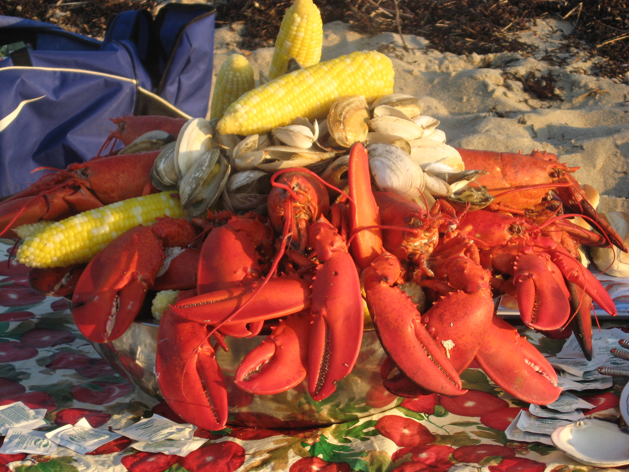 Outer Cape Clambake - Enjoy a delicious appetizer, a huge meal and do ...